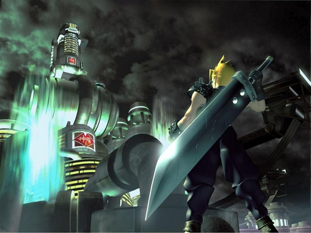 Final Fantasy Vii Wallpaper Video Games Blogger