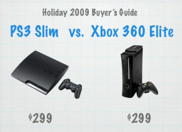 Ps3 Slim Versus Xbox 360 Elite Comparison Video Games Blogger