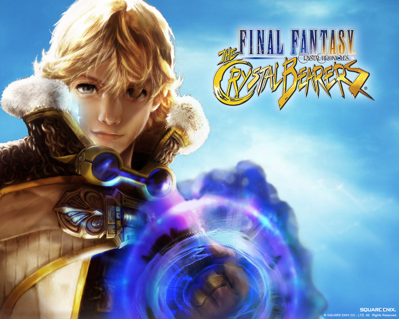 Final Fantasy Crystal Chronicles The Crystal Bearers Wallpaper