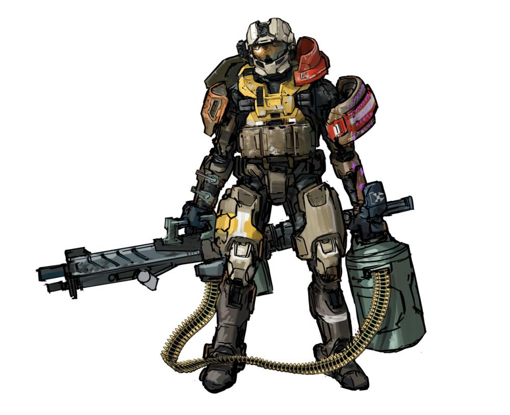 jorge halo reach armor - 1000×814