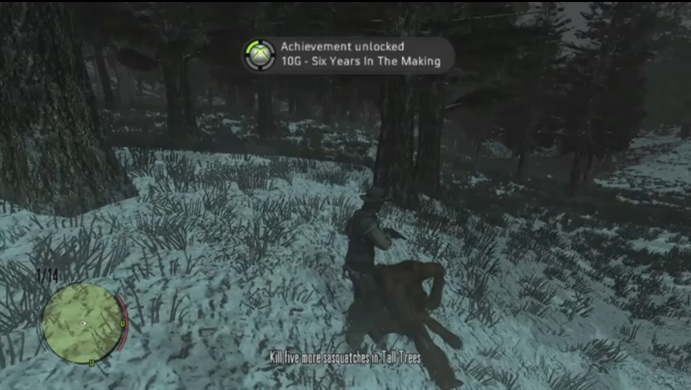 Red Dead Redemption Undead Nightmare Bigfoot Location Guide Xbox