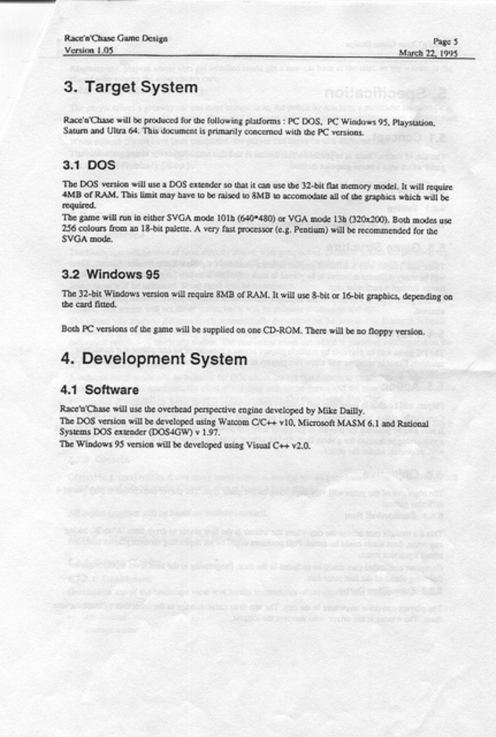 Grand Theft Auto 1 Race N Chase Design Document Released Video Games Blogger,Elements And Principles Of Design Matrix Worksheet