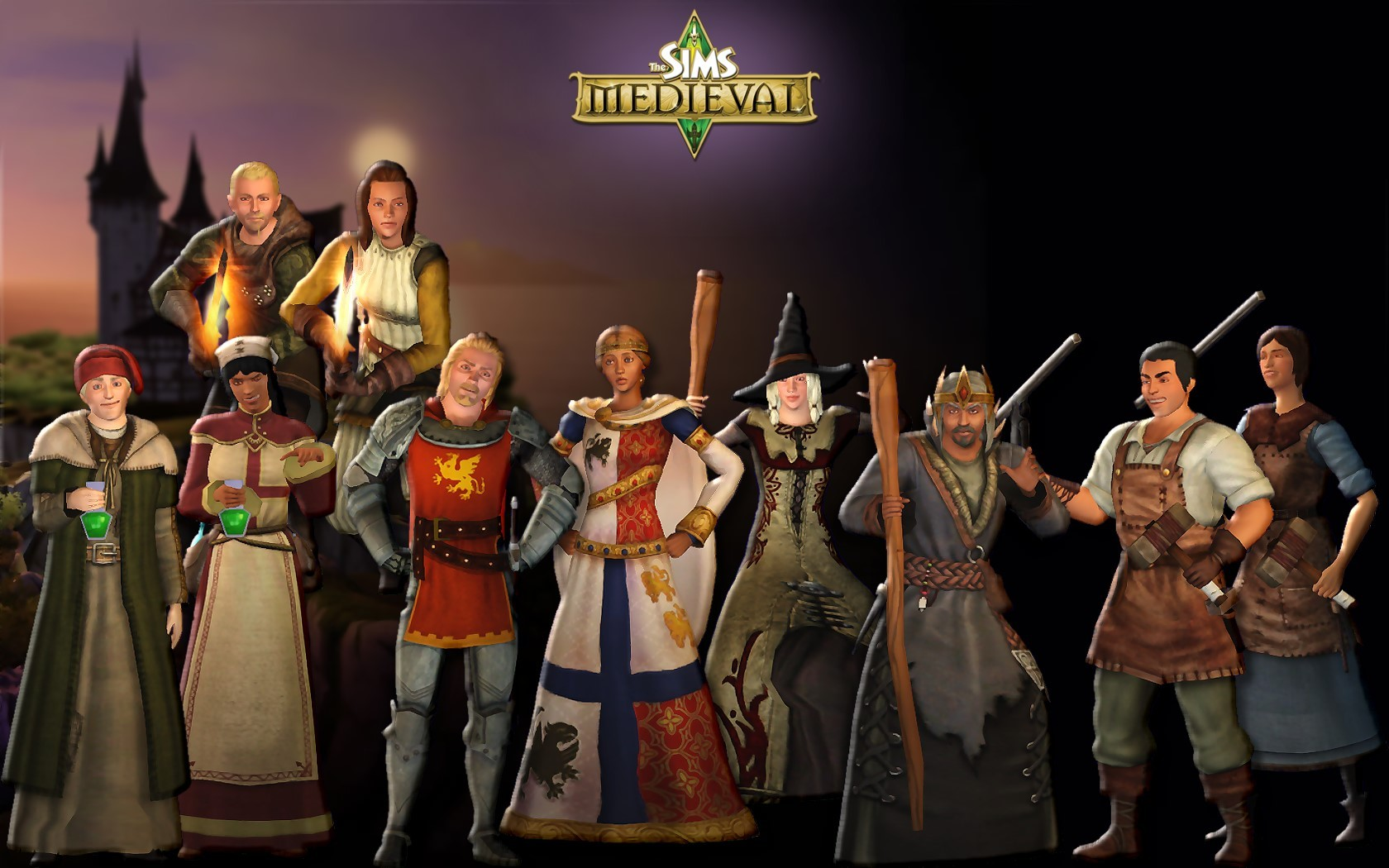The Sims Medieval Wallpaper