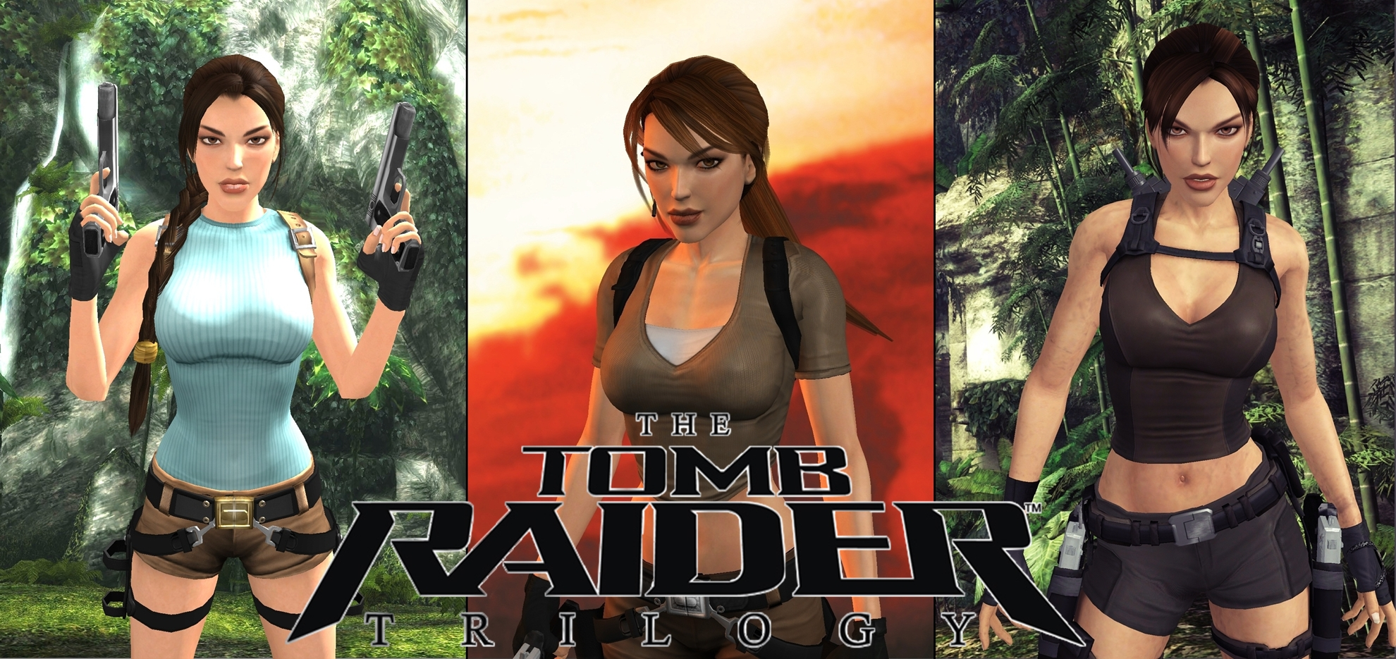Tomb Raider Trilogy Wallpaper Video Games Blogger