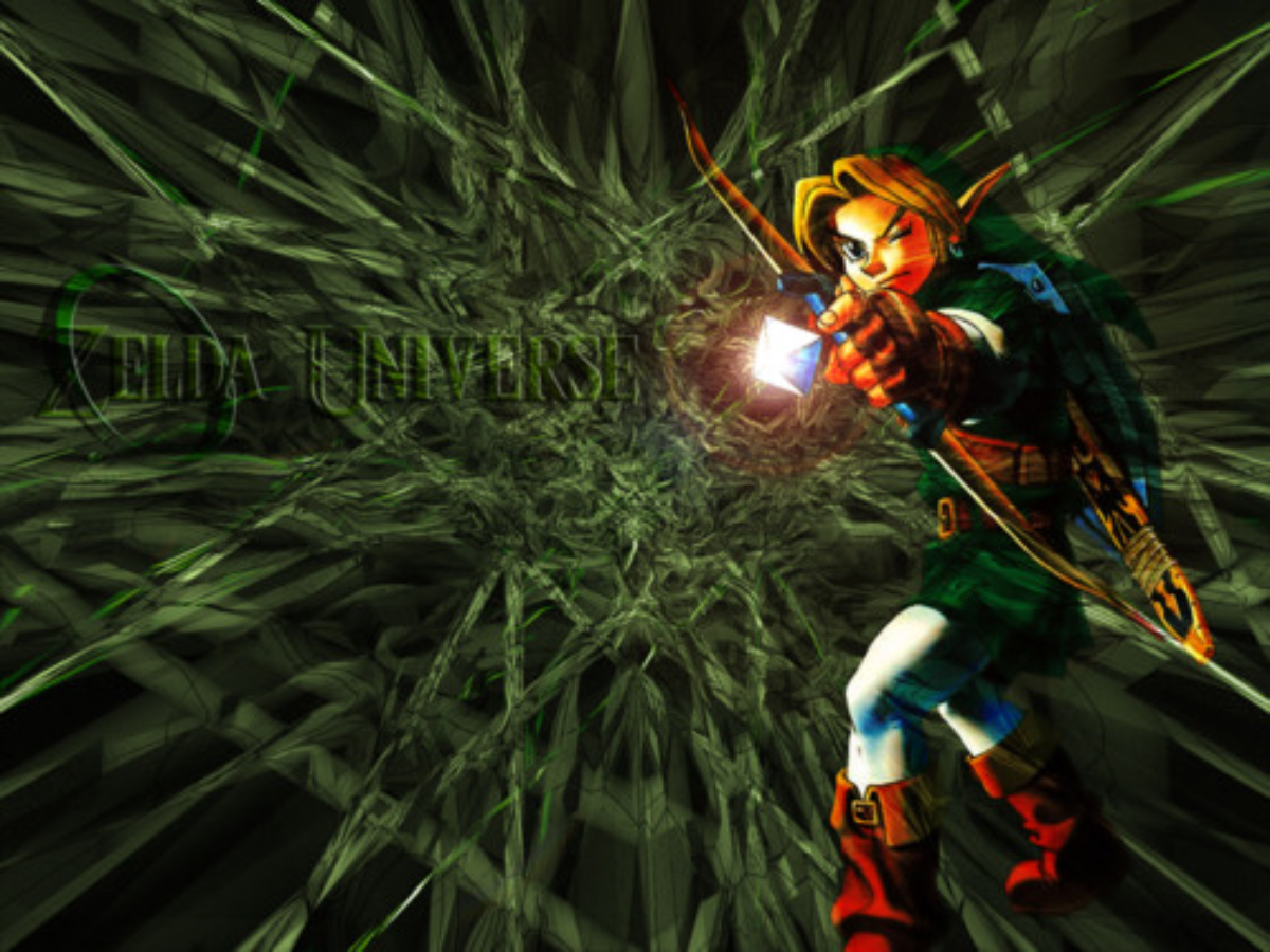 The Legend Of Zelda Ocarina Of Time 3d Wallpaper Video Games