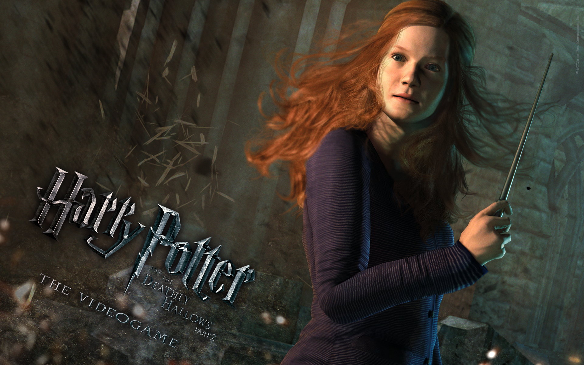 Harry Potter And The Deathly Hallows Part 2 Wallpaper Hd Video
