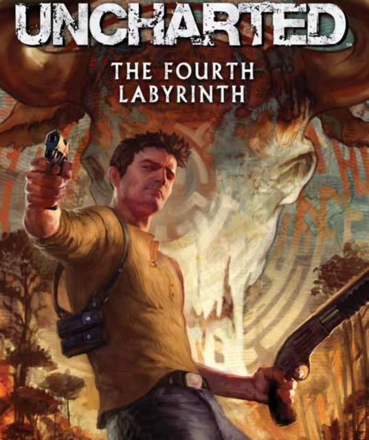 Uncharted Wallpaper: Uncharted 3 Wallpaper The Fourth Labyrinth
