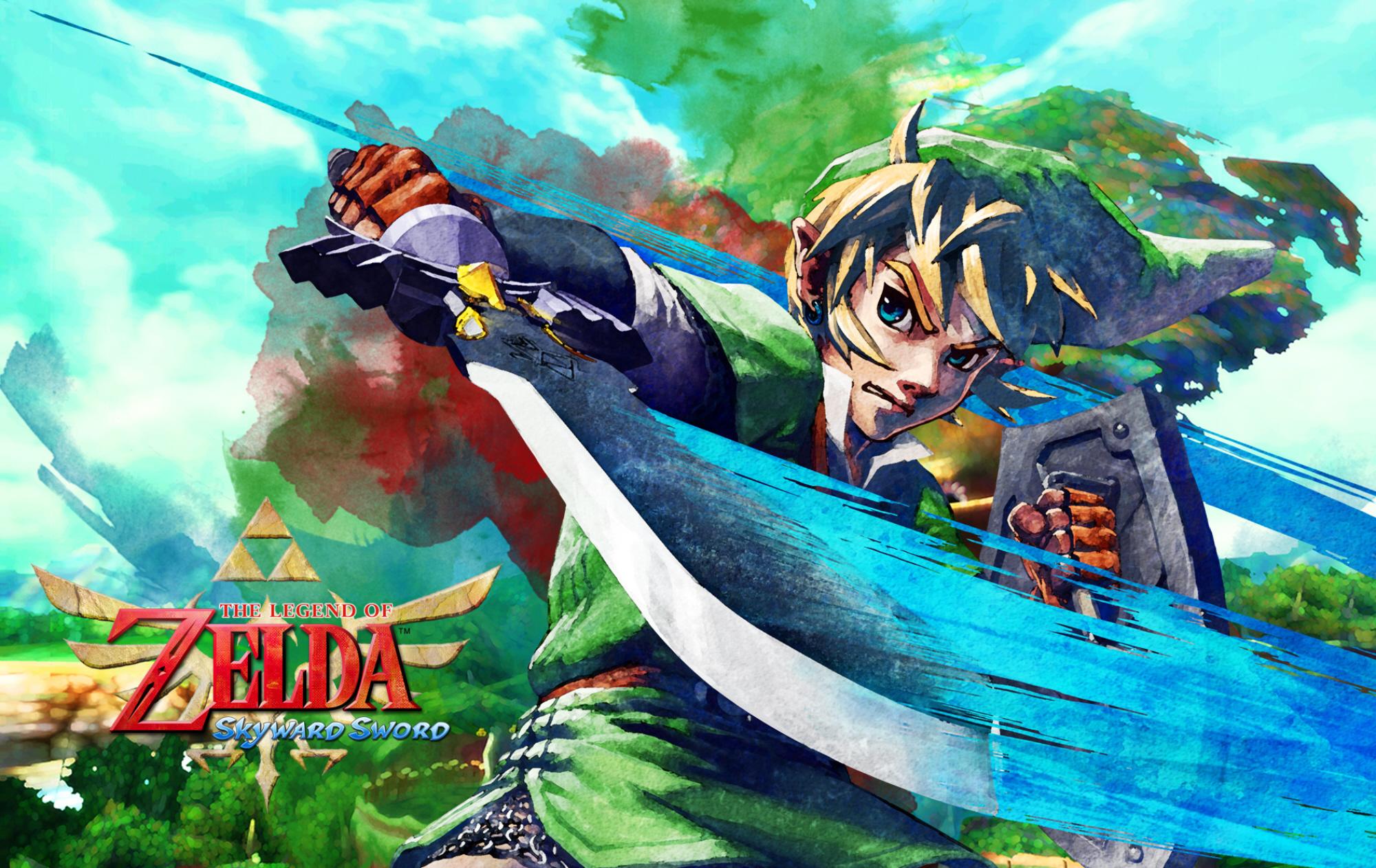 Zelda Skyward Sword Wallpaper Hd Video Games Blogger
