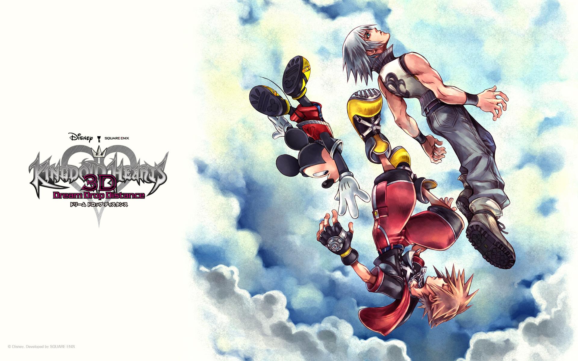 Kingdom Hearts 3d Wallpaper Hd Video Games Blogger