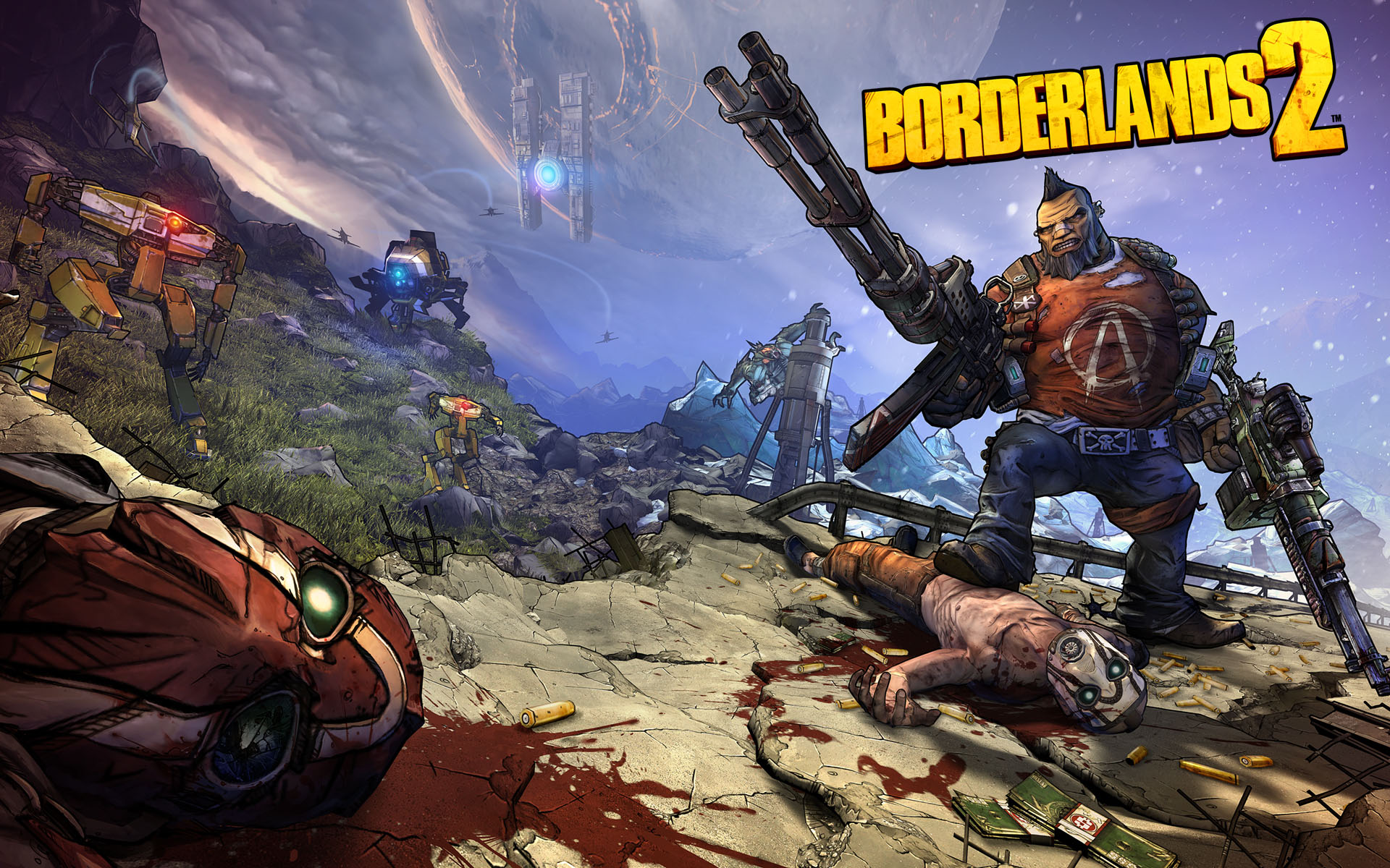 Borderlands 2 Wallpaper Hd Video Games Blogger