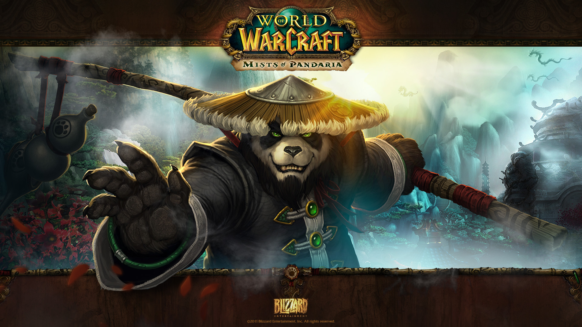World Of Warcraft Mists Of Pandaria Wallpaper Hd Video Games