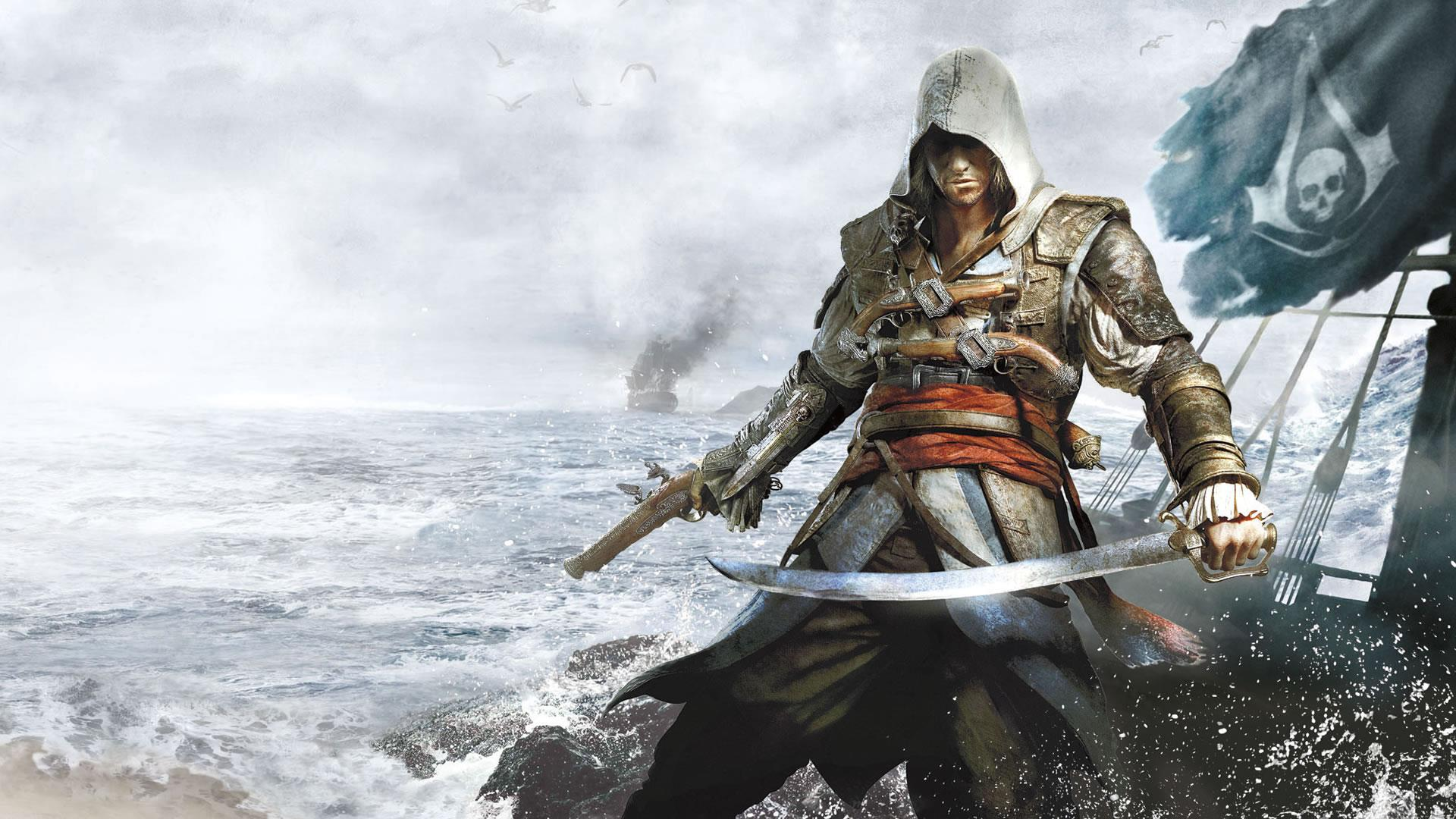 Assassin S Creed 4 Wallpaper Hd Video Games Blogger