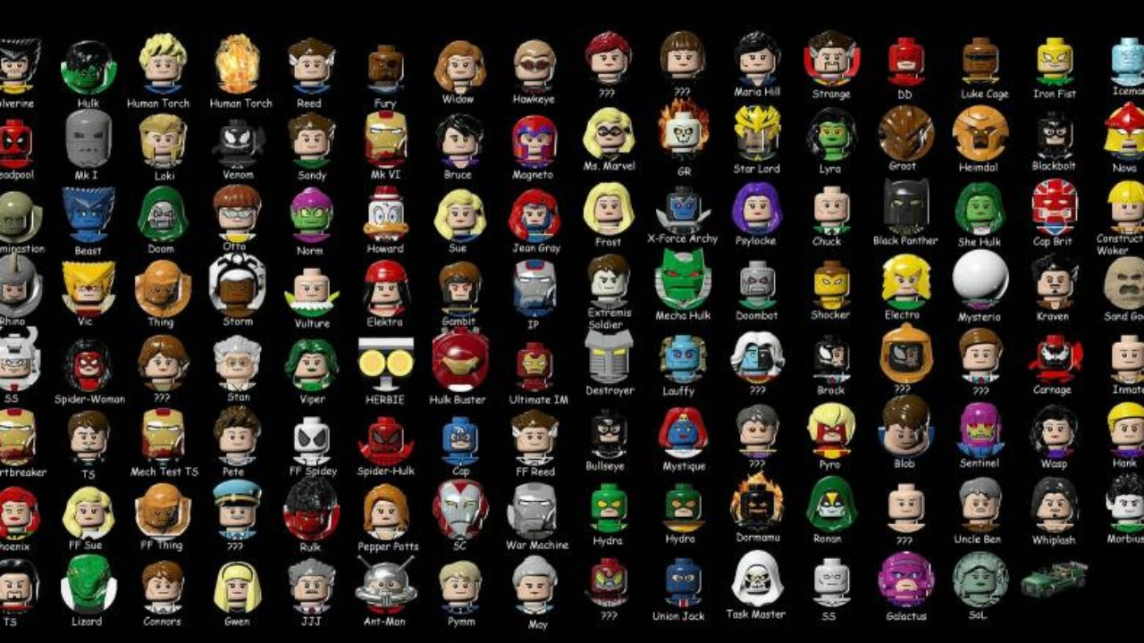 How To Unlock All Lego Marvel Super Heroes Characters