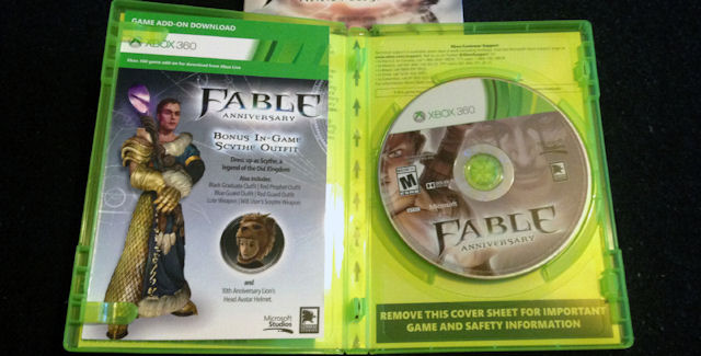 Fable Anniversary Cheats | Video Games Blogger