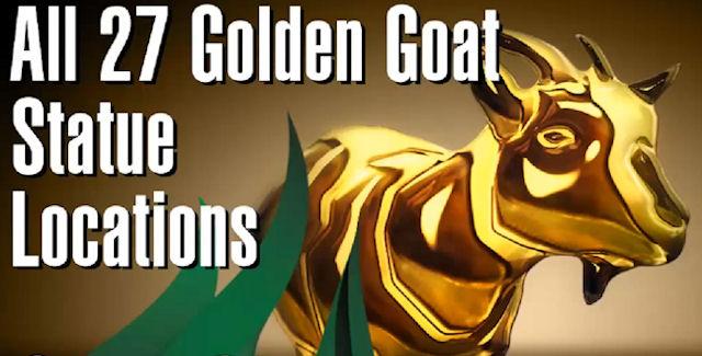 Goat Simulator Golden Goat Statues Locations Guide | Video ...