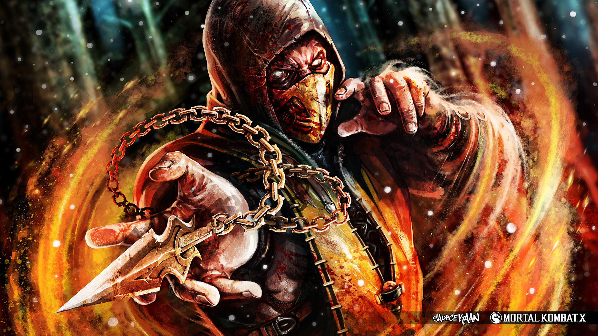 Mortal Kombat X Wallpaper Hd Video Games Blogger