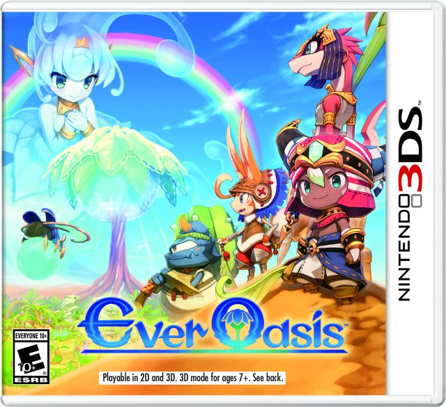 Ever Oasis for 3DS Release Date