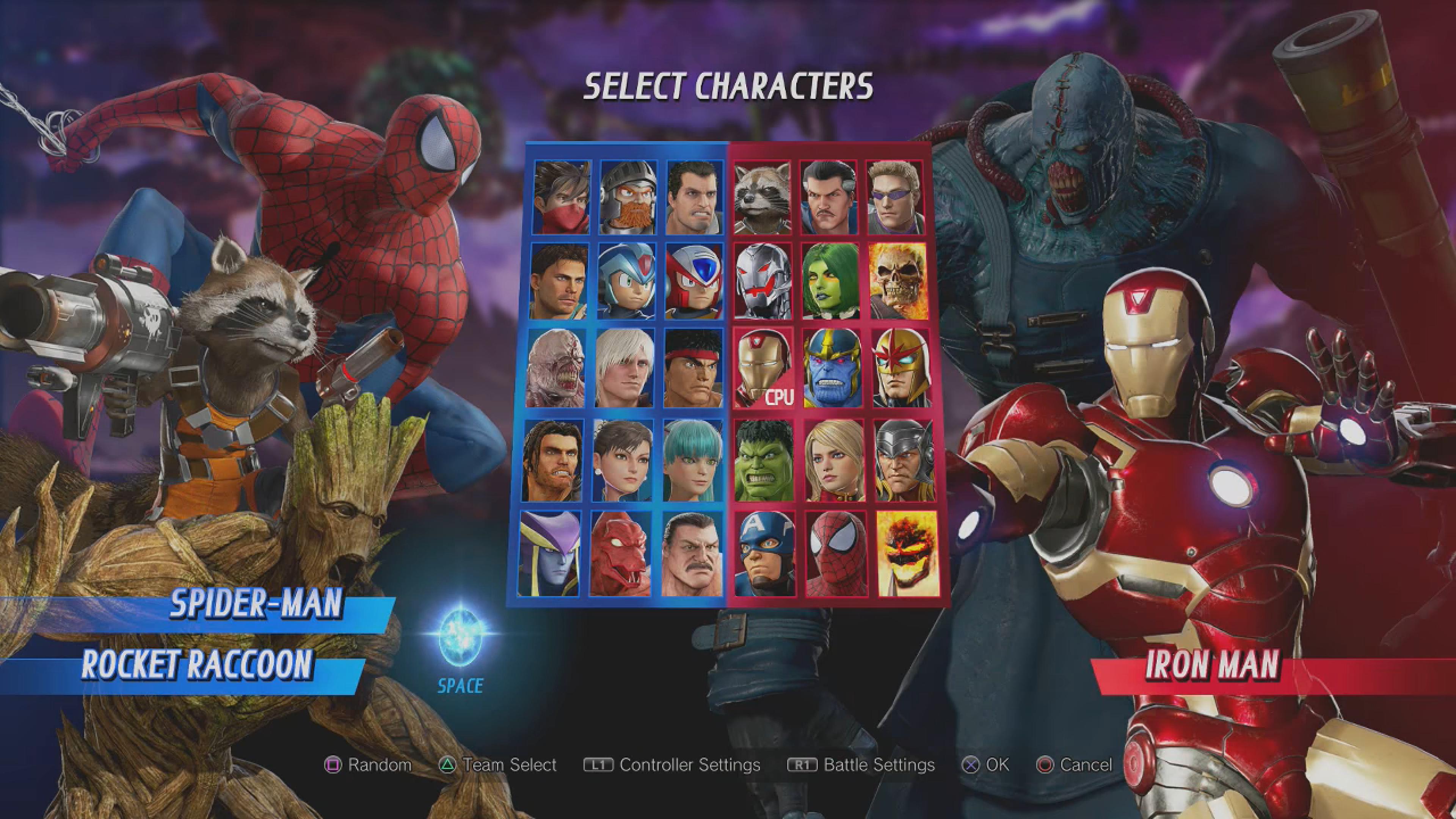 How To Unlock All Marvel vs Capcom Infinite Characters