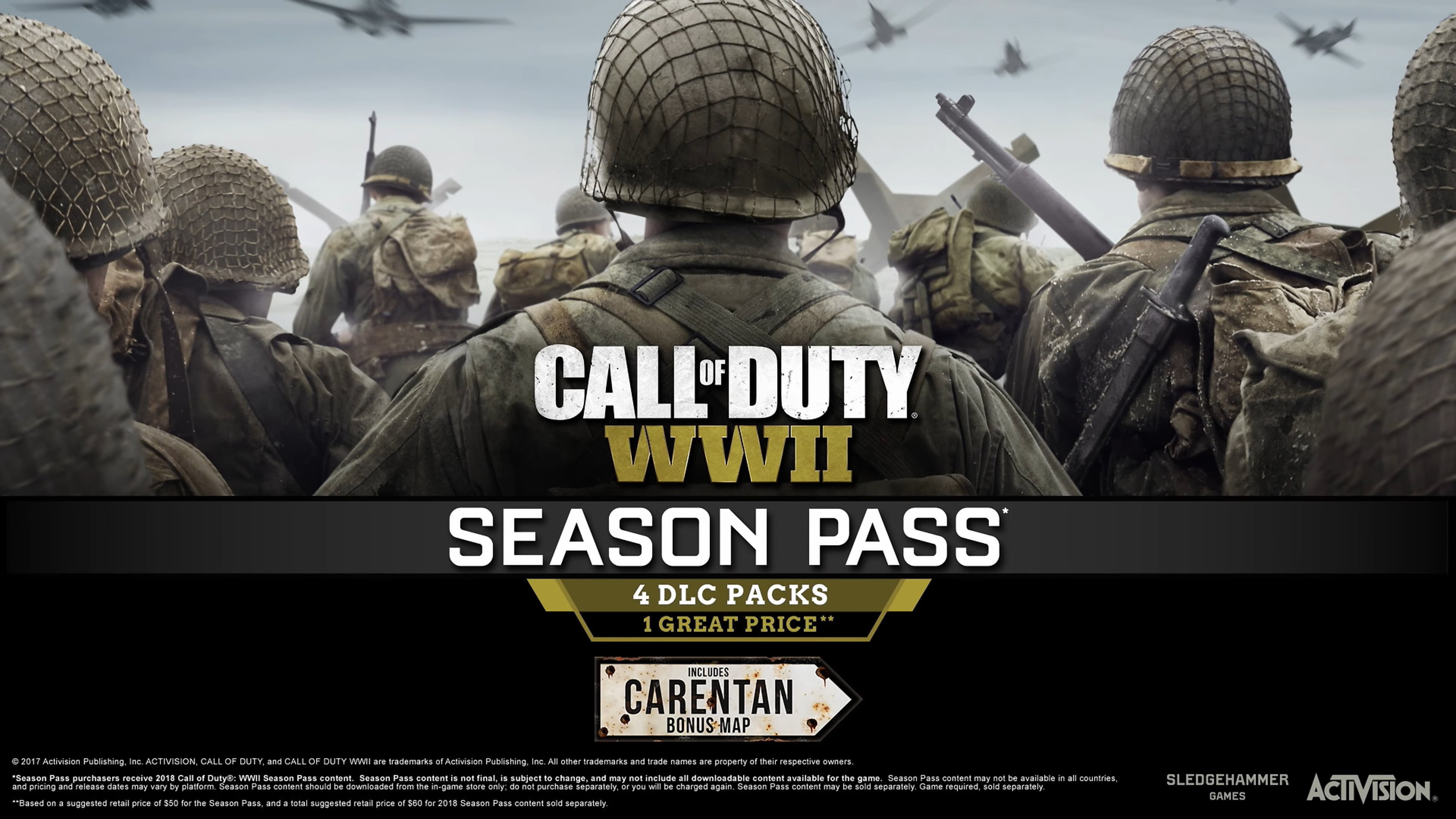 Call of Duty WW2 DLC Release Dates Call Of Duty New Map Pack Release Date on