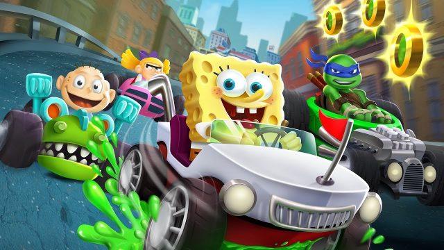 Nickelodeon Kart Racers Banner